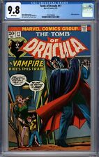 Tomb of Dracula #17 CGC 9.8 White Pages Early Blade Appearance (1974) HIGHEST