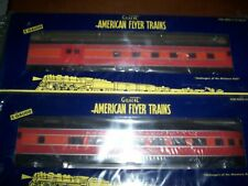 American Flyer Train # 47918 So Pacific 2- Pack Streamliner Passenger Cars