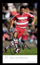 Mark van Bommel Autogrammkarte Bayern München 2007-08 Original Signiert+ C 2482