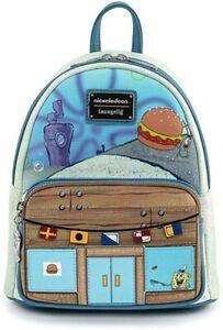 Loungefly x Nickelodeon Spongebob Squarepants Krusty Krab Mini Backpack