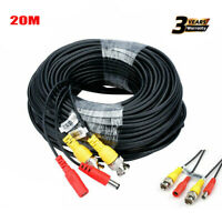 20M CCTV DVR Security Surveillance Camera Wire Cable Video Cable RCA BNC Cord