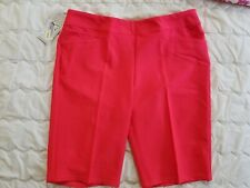1 Nwt Adidas Women'S Shorts, Size: Large, Color: Red (J16)