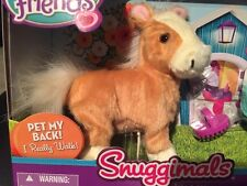 FurReal Friends Snuggimals Walkin' Ponies SHIMMER SKY Pet New Box