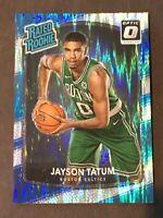 2017 Panini Donruss Optic Shock Rated Rookie Jayson Tatum.