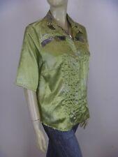 DIDIER PARAKIAN Short Sleeve Shirt sz 10 12 42 - BUY Any 5 Items = Free Post