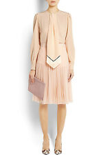 NWT Givenchy Neck Tie Silk Blouse FR36 (Retail $1,890)
