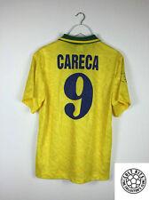Brazil CARECA #9 91/93 Home Football Shirt (M) Soccer Jersey Umbro