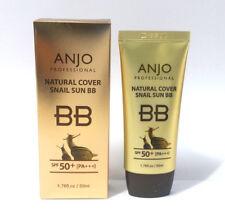 [ANJO]Natural Cover Snail Sun BB Cream SPF 50+PA+++ 50ml/Makeup Base/Snail Mucus
