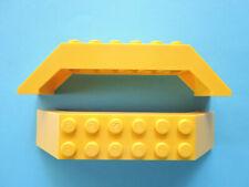 Lego 2 x Bogenstein Brücke 30180  gelb 10x2x2  5885 6426 7344 7775
