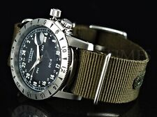 Pre-Invicta Glycine 42mm Airman VINTAGE 1953 DC4 Swiss Auto PURIST Watch 3904