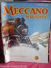 RARE MECCANO 1933 JANUARY LIVERPOOL DOCK BRITANNIC DRAGLINES MONOSPAR SWINDON WK