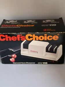 Chef's Choice 110 Professional Diamond Hone 3 Stage Electric Knife Sharpener