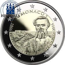 Monaco 2 Euro 2016 PP 150. Jahrestag der Gründung Monte Carlos durch Charles III