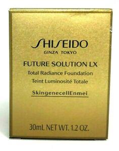 Shiseido Future Solution LX Total Radiation Foundation ~ Rose 4 ~ 1.2 oz BNIB