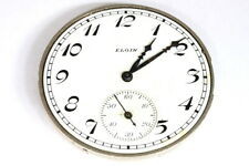 Elgin 17 jewels U.S.A. pocket watch movement for parts/restore - 137975