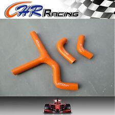 KTM 450SX 525SX Silicone Radiator Hose Kit 03-06 2003 2004 2005 2006 ,orange