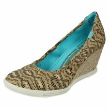 Wedge Canvas Casual Heels for Women