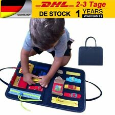 Montessori Lernspielzeug Spielzeug Kleinkinder + Schnallen und Verschlüssen