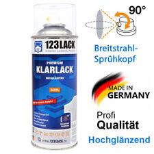 Acryl Klarlack Spraydose Glänzend 123Lack Profi Autolack 400ml Sprühdose
