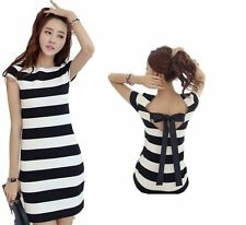 Unbranded Short Sleeve Tunic Casual Dresses for Women