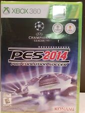 Pro Evolution Soccer 2014 PES 2014  (Xbox 360, 2013) Brand New !!