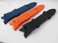 878444074a8 Armani Exchange Rubber Watch Band Strap AX1050-AX1182-AX1183-AX1182-AX1042.