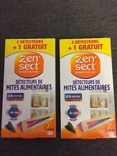 ZEN'SECT Anti mites alimentaires 4 Piéges. Food Moth