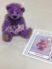 """DEB CANHAM 2011 CONVENTION FAIRY STORIES PRIZE """"TINKERBELL PURPLE BEAR 4/30"""