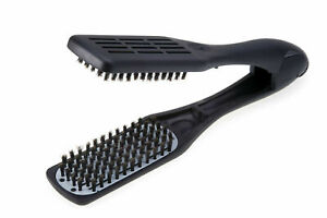 Denman Professional Hair Straightener Brush D79 - Ceramic Boar Bristles