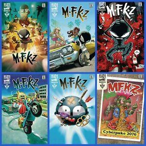 MFKZ #1 A B C D Set Variant or 1:5 1:10 Options Behemoth Netflix Diesel GPK NM