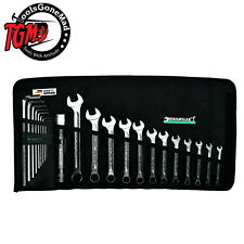 Stahlwille 22 Piece Ring Open Ended Spanner Hex Allen Key Torch Set Metric 13/22