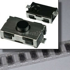 500PCS Soft Rubber Normal Open Type Tact Switch SMD Tactile Car Key  Button NEW