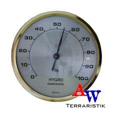 Haar-Synthetic Hygrometer - analog - nachjustierbar - Haarhygrometer