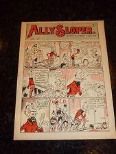 ALLY SLOPER Comic - No 1 - 1948 UK Paper Comic