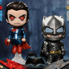 4'' Batman V Superman 2pcs Dawn of Justice Cosbaby PVC Figures Figurine Toy Gift