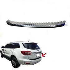 For 2015 - 2016 Ford Everest Suv Duratorq Diesel Back Guards Molding Trim Chrome