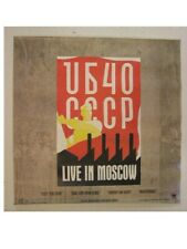 Ub40 Poster Live In Moscow U B 4 0 Ub 40 Old