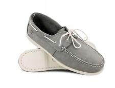 Timberland Cedar 2 Eye Grey Boat Deck Shoes Sz 6.5 Bnib A18WR Moccasins