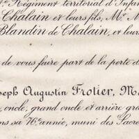 Joseph Augustin Frotier De La Messeliere Marsay 1878
