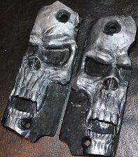Star Super B Pistol Grips Pearl Skull pattern on Black