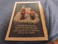 Vintage National Geographic Coke Advertisement From Oct 1941 Printing