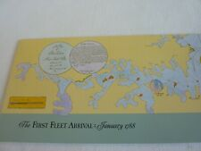 The First Fleet Arrival at Sydney Jan. 1788 - ( Australian Stamps)