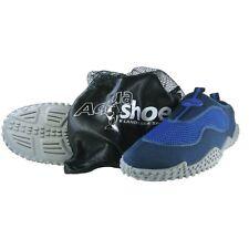 Unisex | Land & Sea Quality Aqua Shoes (reef Fishing Beach) Mesh Bag US 10 Blue
