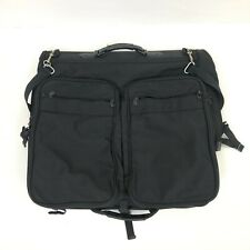 Briggs & Riley Travel Carry-On Garments Bag Black Ballistic Nylon Black