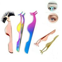Eyelash Tweezer Applicator for False Lashes Fake Eyelashes in 6 colours