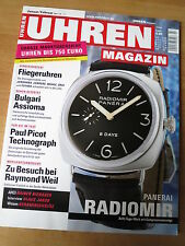 UHREN-MAGAZIN Nr 1/2 2006 Panerai Radiomir, Fliegeruhr Junghans Junkers Tutima