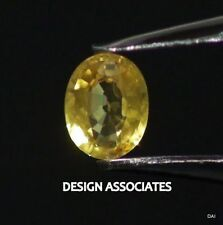 YELLOW SAPPHIRE 7X5 MM OVAL CUT ALL NATURAL AAA