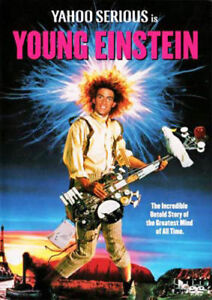 Young Einstein DVD New and Sealed Manufactured Australian Release
