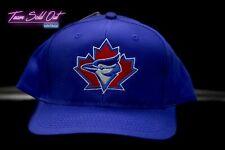 Vintage Logo 7 Toronto Blue Jays Plain Logo Snapback Hat MLB