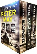 Peter May Lewis Trilogy 3 Books Collection Box Gift Set Chessman - NEW